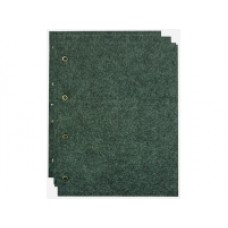 Комплект листов для значков (5ткань+5картон+5промежут.). Grand. Размер листа 245 мм * 310 мм