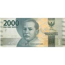 Банкнота 2000 рупий 2016 год. Индонезия (UNC)
