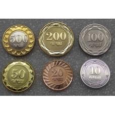 Набор монет Армении 6 монет UNC (2003-2004)