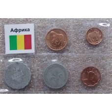 """Набор монет серия """"Африка"""" (5 монет)"""