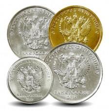 Годовой набор разменных монет  2018 года ММД ( UNC )