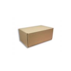 Бурая почтовая коробка Тип- Г, Эконом №3 , без печати (265х165х190)
